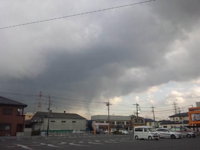 巨大地震雲(東日本大震災発生時)
